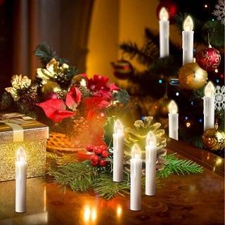 Die 40stk Weihnachtsbaumbeleuchtung kabellos von YAOBLUESEA haben sich sehr gut im Test gezeigt