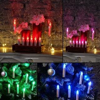 Die LED Weihnachtsbaumbeleuchtung kabellos von ist von hoher Qualität im Test