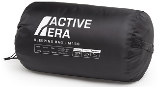 Der ctive Era 150 Premium Schlafsack hat viele Vorteile im Test gezeigt