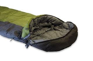 Der TR 300 Schlafsack von High Peak ist sehr bequem im Test und Vergleich