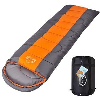 Der Camping Schlafsack von Lattcure sieht sehr schön aus im Test