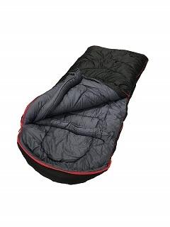 Der Rocky Gap-20 F Schlafsack von Ledge Sport ist sehr gut verarbeitet im Test