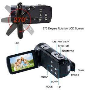 Die aktuell besten Produkte aus einem Videokamera Test im Überblick