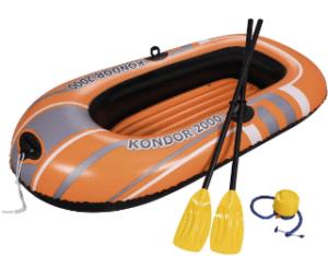 Der Antrieb des Schlauchboots im Test und Vergleich
