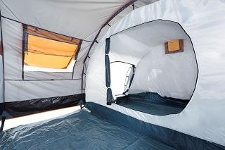 Der Kundendienst aus dem 4 Personen Zelt im Test