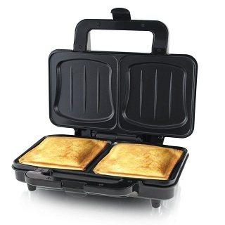 Der XXL Sandwichmaker von Emerio wird getestet