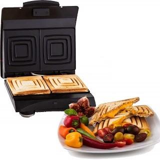 Der 12240004 Sandwichmaker von Exido ist sehr hochwertig Verarbeitet im Test