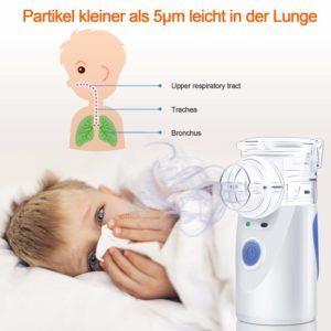 Fragen zum Inhalator im Test und Vergleich