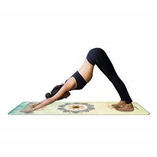 Die Mandala Print Yogamatte von JameStyle26 wird getestet