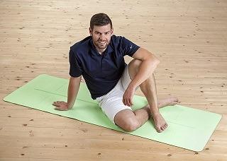 Die Yogamatte von KeenFlex ist von hoher Qualität im Test