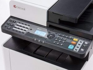 Der M5521cdn-Laserdrucker von Kyocera-Ecosys ist sehr einfach zu bedienen im Test