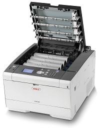 Der C532dn Laserdrucker von OKI hat sich sehr gut im Test gezeigt