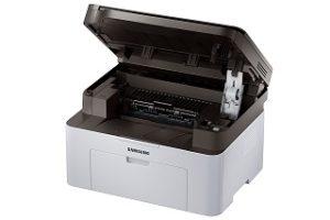 Der Xpress-Laserdrucker von Samsung ist hochwertig verarbeitet im Test