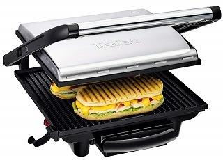 Der GC241D Sandwichmaker von Tefal wird getestet