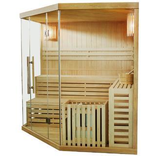 Die Sauna von Brescia Docce ist von hoher Qualität im Test