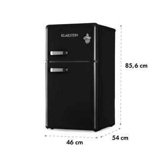 Alle Zahlen und Daten aus einem Retro Kühlschrank Test