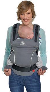 Die Babytrage von fastique kids ist sehr bequem im Test
