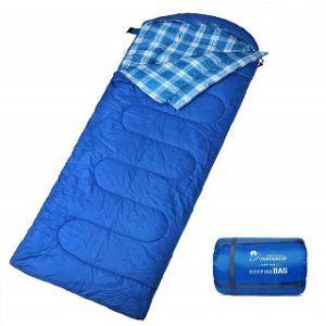 Welche Arten von Kinderschlafsäcken gibt es in einem Test?