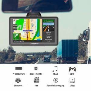 Welche Arten von Navigationsgerät gibt es in einem Testvergleich?