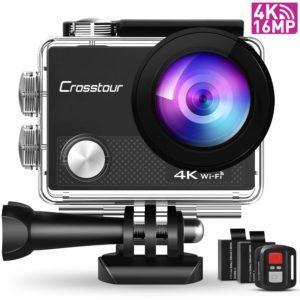 Crosstour CT9000 Action Cam im Unterwasserkamera Test und Vergleich
