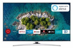 Design bei dem UHD Fernseher im Test und Vergleich