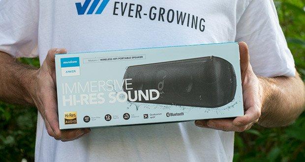 Soundcore Motion+ Bluetooth-Lautsprecher von Anker im Test - Kabelloser Stereo-Modus