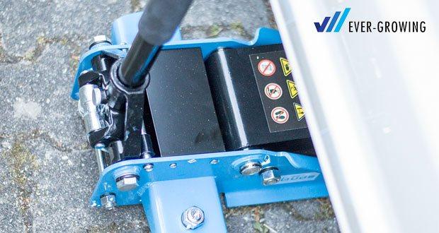 Güde Rangierwagenheber GRH 2,5/510 L - Hydraulischer Ragierwagenheber ist für den Einsatz in Werkstatt und Garage bestens geeignet