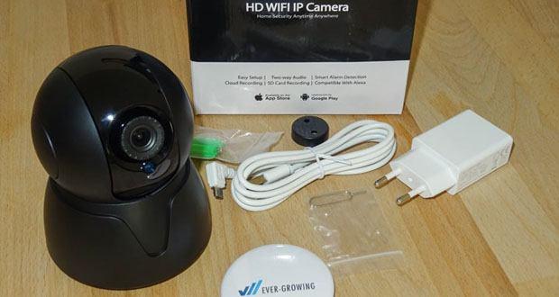 HiKam Q8 Ãœberwachungskamera im Test
