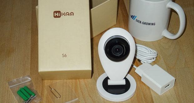 HiKam S6 Ãœberwachungskamera im Test
