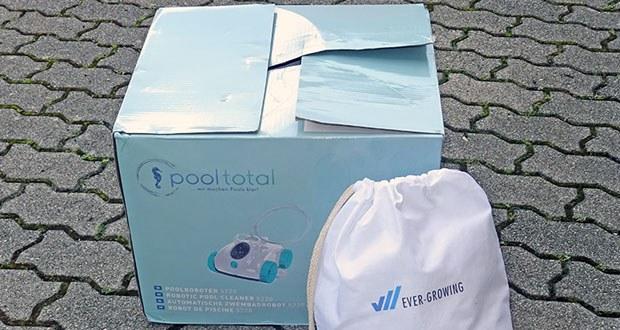 POOL Total Poolroboter 5220 im Test - NO-TWIST Swivel (Kabel Drehgelenk) zur Minimierung von Kabelsalat