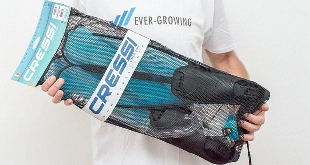 Cressi Unisex Tauchset Rondinella mit Reisebeutel im Test