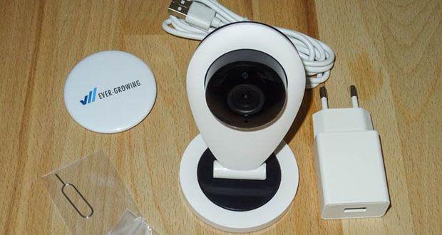 Überwachungskamera S6 von HiKam im Test – Kostenlose Cloud-Speicherung in Deutschland