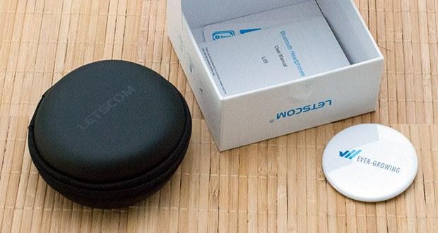 Bluetooth Kopfhörer U8I von LETSCOM im Test - mit Reichweite bis zu 10 Meter