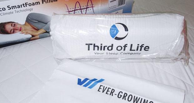 Third of Life Kopfkissen HADAR im Test – ideal geeignet für Allergiker und Asthmatiker