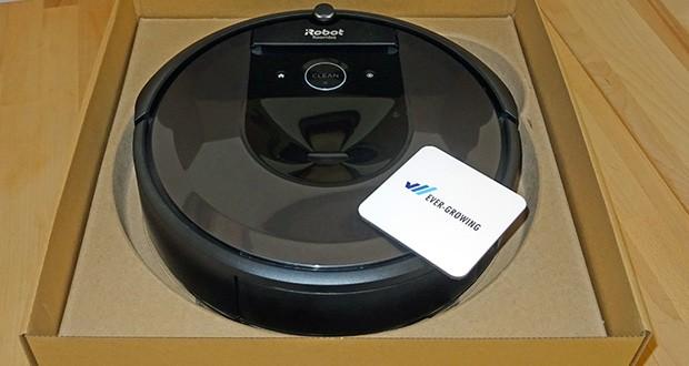 Saugroboter Roomba i7556 von iRobot - das Premium 3-Stufen-Reinigungssystem