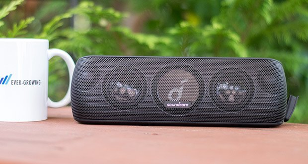 Soundcore Motion+ Bluetooth-Lautsprecher von Anker im Test - BassUpTM Technologie