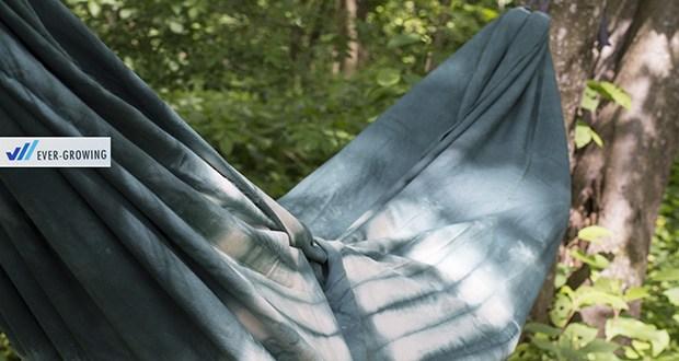 Baumwoll-Hängematte von Slomock beim Camping