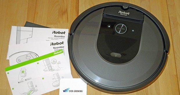 Saugroboter Roomba i7556 von iRobot mit automatischer Absaugstation im Test