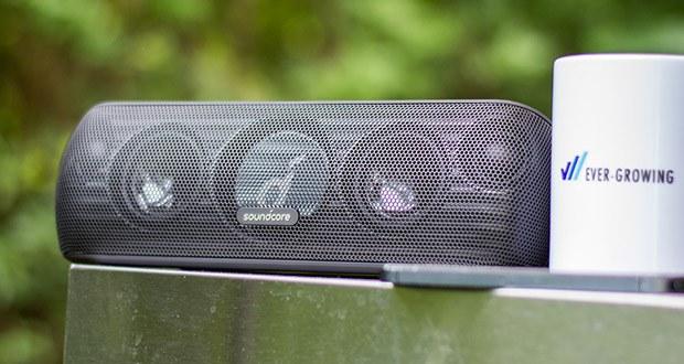 Soundcore Motion+ Bluetooth-Lautsprecher von Anker im Test - Fortschrittliche DPS und erstklassige Audio-Woofer und -Tweeter sorgen für ein fantastisches Klangprofil