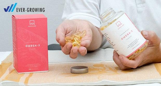Omega 3 Fischöl (2000mg) von Aava Labs im Test