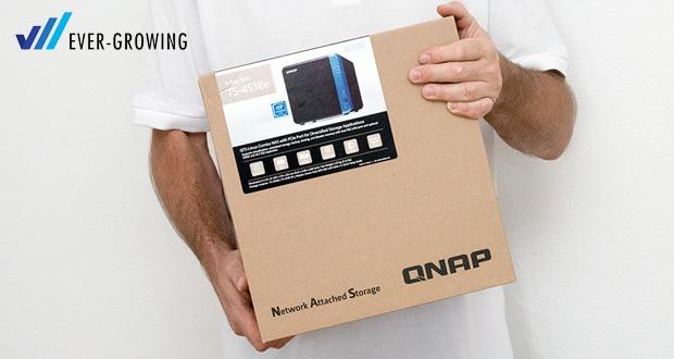 QNAP TS-453Be - Quad-Core Multimedia-NAS mit PCIe-Steckplatz für vielfältige Anwendungserweiterungen und höhere Effizienz