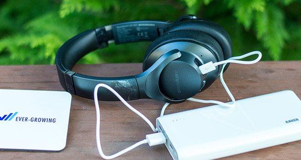 Soundcore Life Q20 Bluetooth Kopfhörer von Anker im Test - Bluetooth 5.0 sorgt für eine unerschütterliche Verbindung zwischen deinen Kopfhörern und deinem Smartphone
