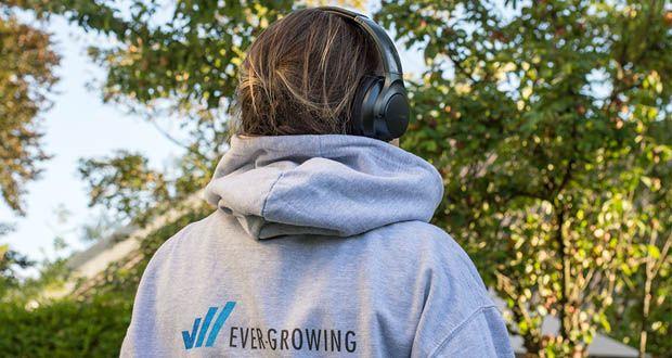 Soundcore Life Q20 Bluetooth Kopfhörer von Anker im Test - das hochmoderne integrierte Mikrofon deiner Life Q20 Kopfhörer filtert deine Stimme effektiv heraus und sorgt damit für kristallklare, deutliche Telefonate
