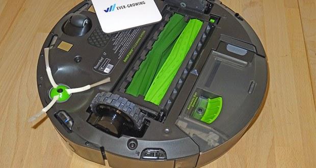 Saugroboter Roomba i7+ von iRobot kennt den otpimalen Reinigungsweg