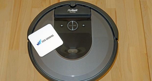 Saugroboter Roomba i7556 von iRobot – das Premium 3-Stufen-Reinigungssystem entfernt sichtbaren und auch unischtbaren Schmutz