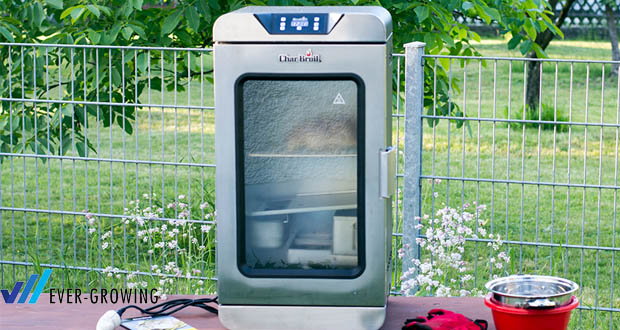Char-Broil Digital Smoker - 4 verstellbare, im Backofen-Stil gehaltene Grilloste aus Edelstahl