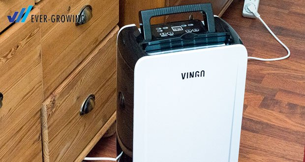 Vingo Luftentfeuchter von Hengda mit dem einzigartigen Lufteinlass-Design