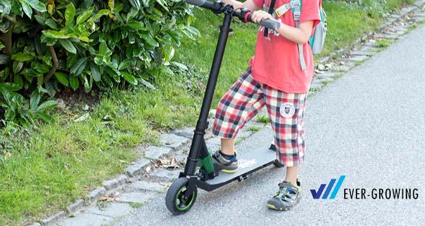 Electric Scooter-S1 von MEGAWHEELS - max. Klettergrenze: 15 Grad