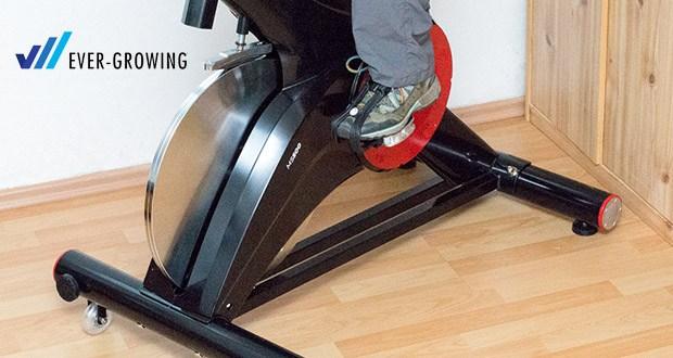 Die besonders leise Mechanik sorgt dafür, dass das Miweba Sports Indoor Cycle MS500 jederzeit zum Einsatz kommen kann