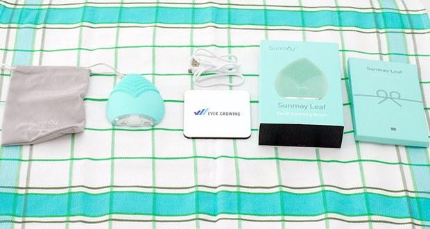 SUNMAY Leaf Facial Cleanser Gesichtsreinigungsbürste im Test - geeignet für verschiedene Gesichtshautarten